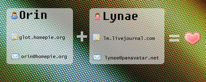 Orin + Lynae = ♥