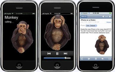 The Wise Iphone Monkeys